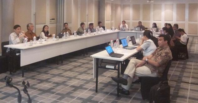 Training Gap Draft Inception Report dengan Standar EITI